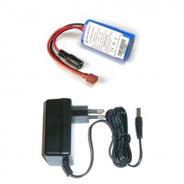 Pack batterie + chargeur compatible Arduino