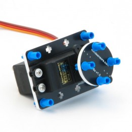 Servomotor HS-311 (43 g) mit Montageset für Lego Mindstorms