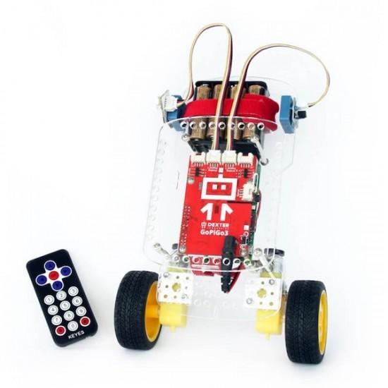 Kit d'extension BalanceBot pour GoPiGo3