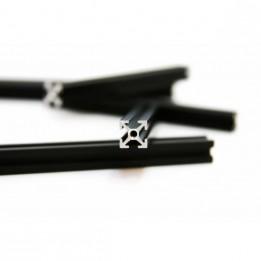 Profilés taraudés MakerBeam 60mm - noir (x8)