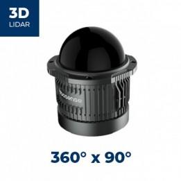 Télémètre laser 3D RS-BPearl 360 x 90° Robosense