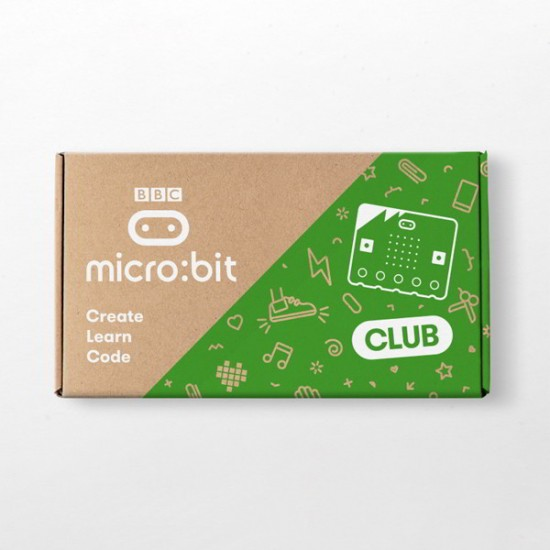 10 BBC micro:bit Club Kits with cables and batteries