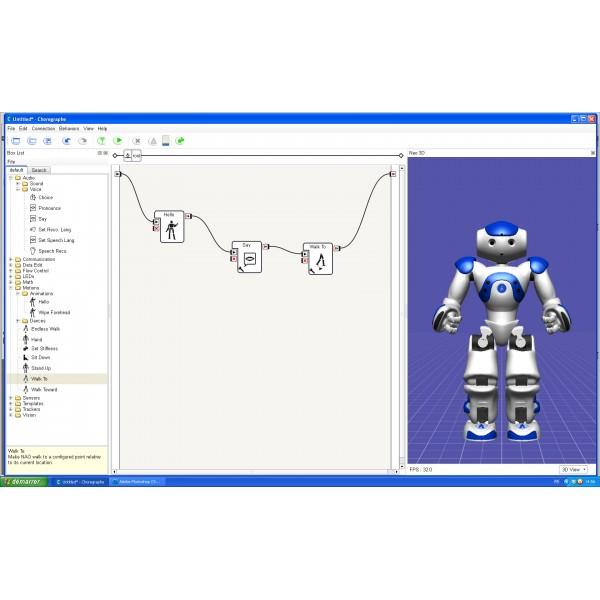 Suite logicielle pour robot humanoïde programmable NAO Next Gen