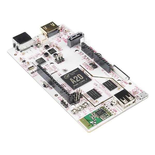 Das pcDuino3 ähnelt einem Computer, benötigt jedoch lediglich eine Stromversorgung von 5 V, ein Keyboard, eine Maus und ein Displa