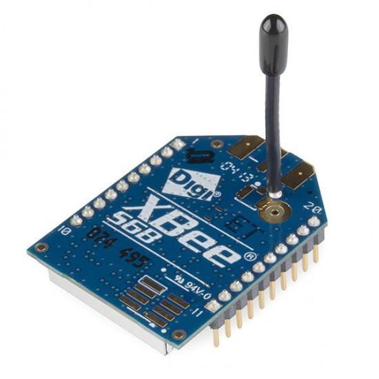 XBee WiFi-Modul mit Drahtantenne