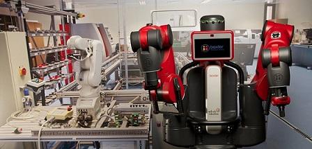 Le robot baxter est un robot Collaboratif