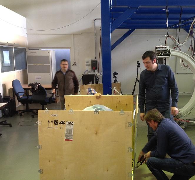 Shipping of Baxter robot