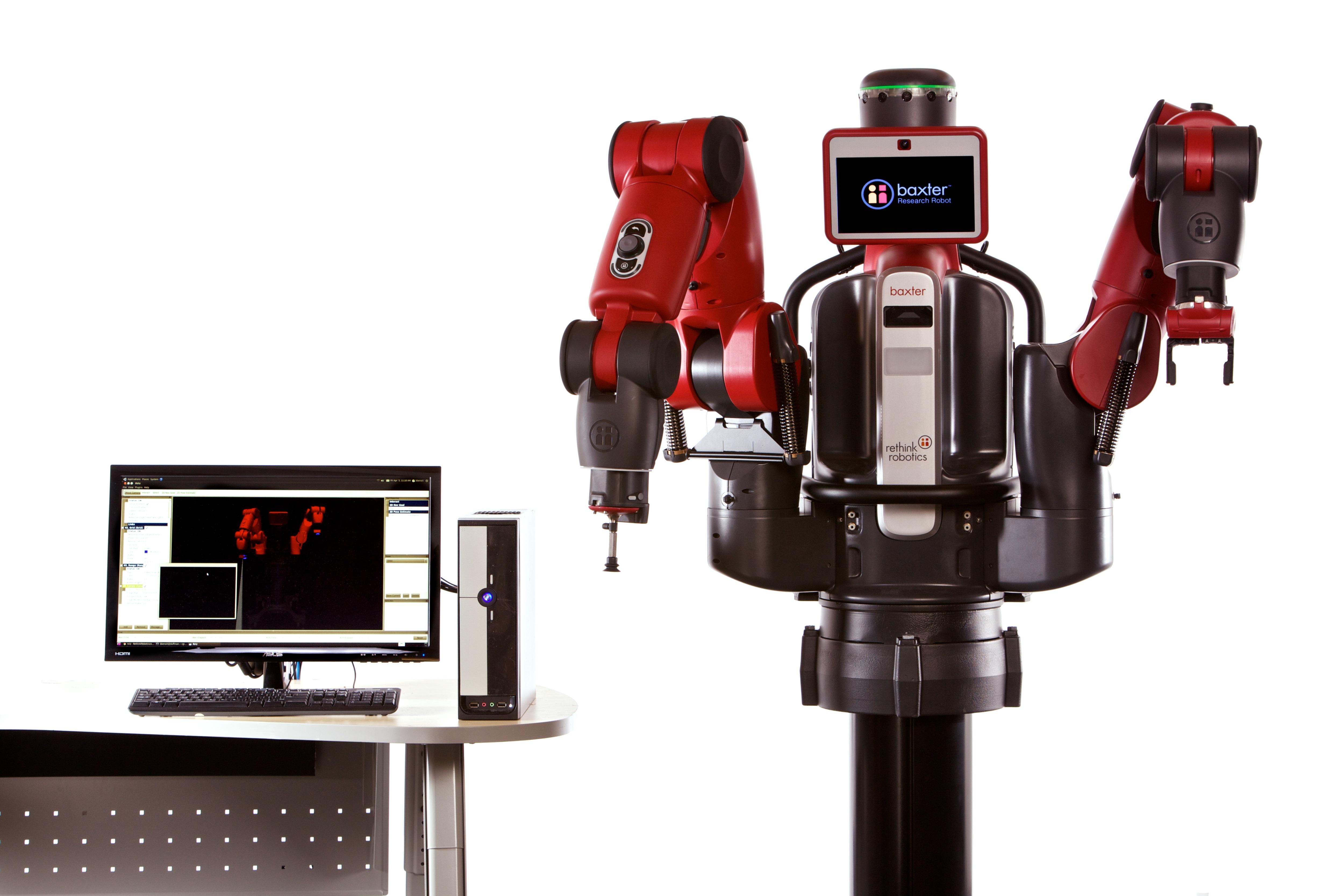 Robot Baxter de Rethink Robotics