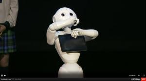 pepperrobot rap