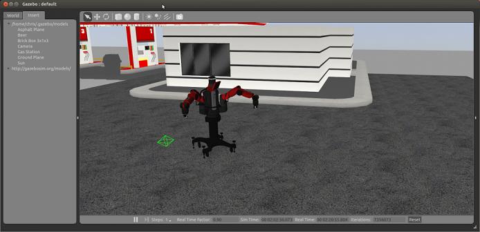 Baxter-in-Gazebo-Simulator