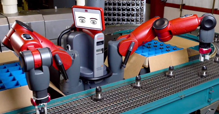 Baxter-robot-en-action-generation-robots