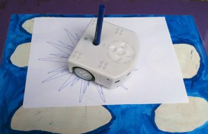 Zeichnen mit dem Thymio II Roboter