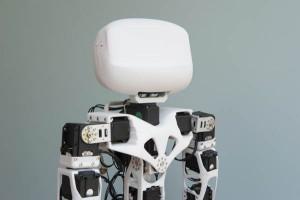 Le robot humanoïde open-source Poppy inspiré de la biomécanique.