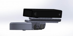 Kinect Depth camera sensor v2 and its support for Baxter robot motorised head mount