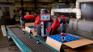 Baxter Tasker unterstützt eine der Hauptfunktionen des Roboters Baxter: Pick & Place