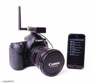 Projet Edison : contrôleur/déclencheur pour appareil photo reflex via appli mobile