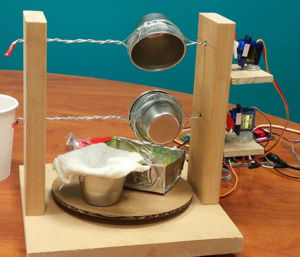 Intel Edison project: tiny cheese maker