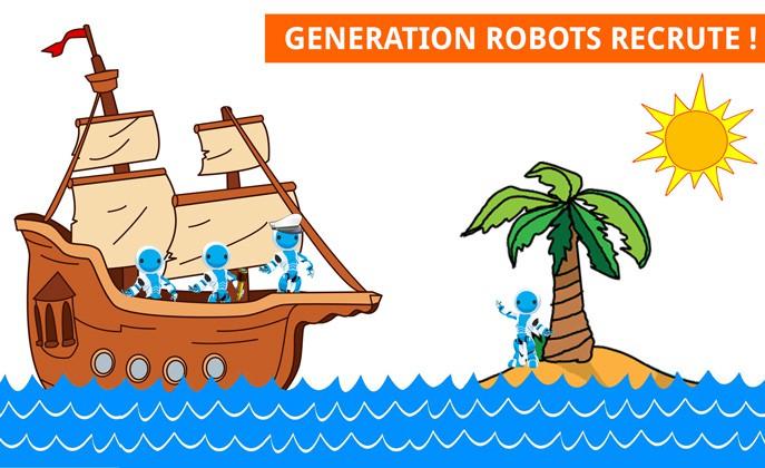 Recrutement 2015 Generation Robots