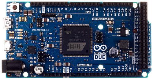 Carte Arduino Due chez Génération Robots