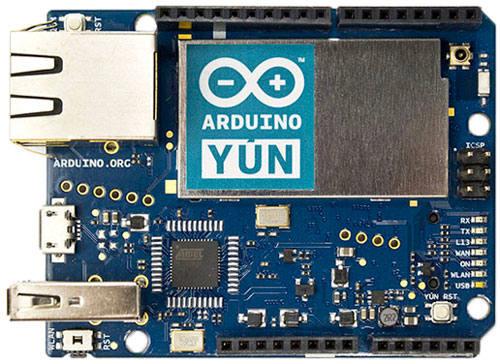 Carte Arduino Yun chez Génération Robots