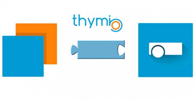 Les langages de Thymio : VPL, Blockly, texte et Scratch