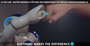 Le GR Lab : notre Bureau d'études en Robotique de Service Professionnelle