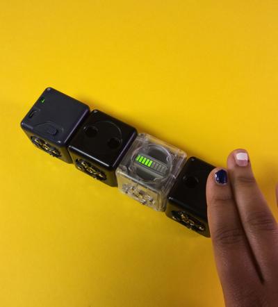Robots Cubelets pour l'éducation