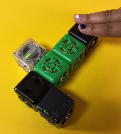 Robots pour Noël : les Cublets