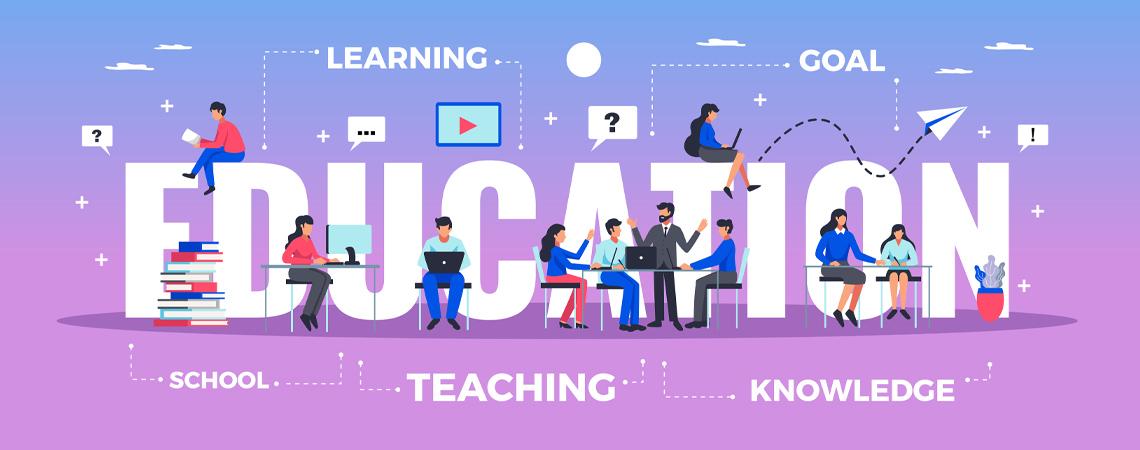 banniere du guide d'achat dédié à l'éducation (maternelle, primaire, collège et lycée)