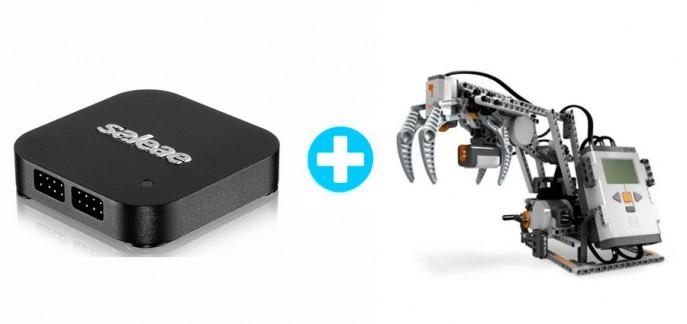 I2C communication: Lego Mindstorms NXT brick, sonar sensor