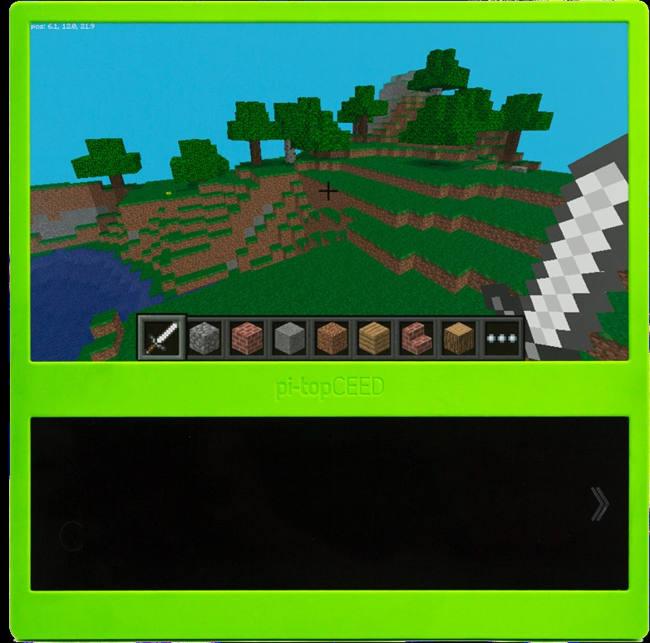 Jouez à Minecraft sur Pitop-CEED