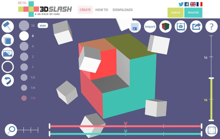 3D Slash sur Pitop-CEED