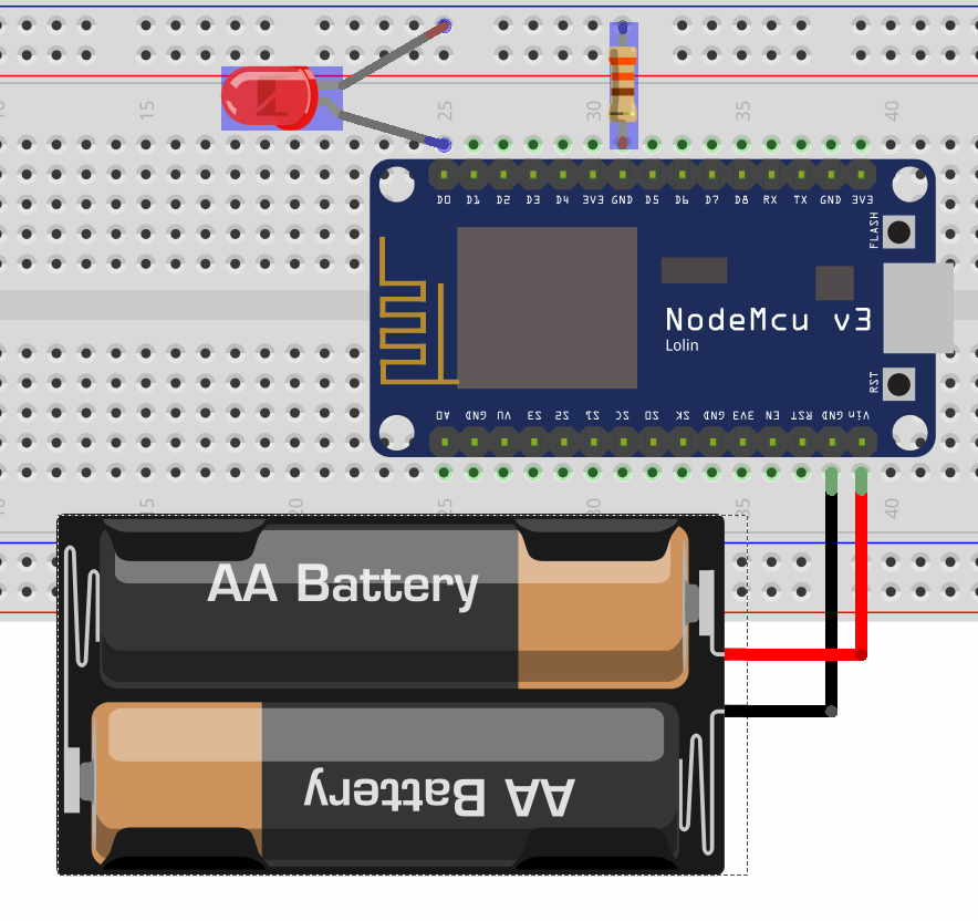 Breadboard Homeautomation