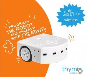 Wireless Thymio Roboter