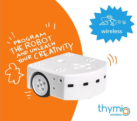 Wireless Thymio Roboter