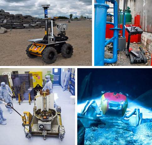 Robots operating in extreme environments