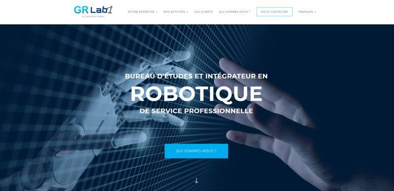Bureau d'études robotiques GR Lab