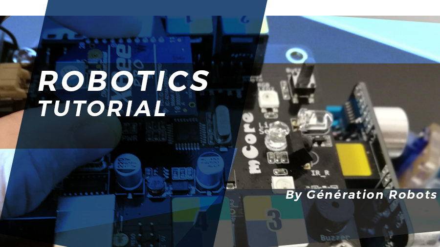 How to teleoperate the mBot educational robot using an XBee