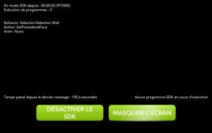 Application Cozmo - activer le SDK