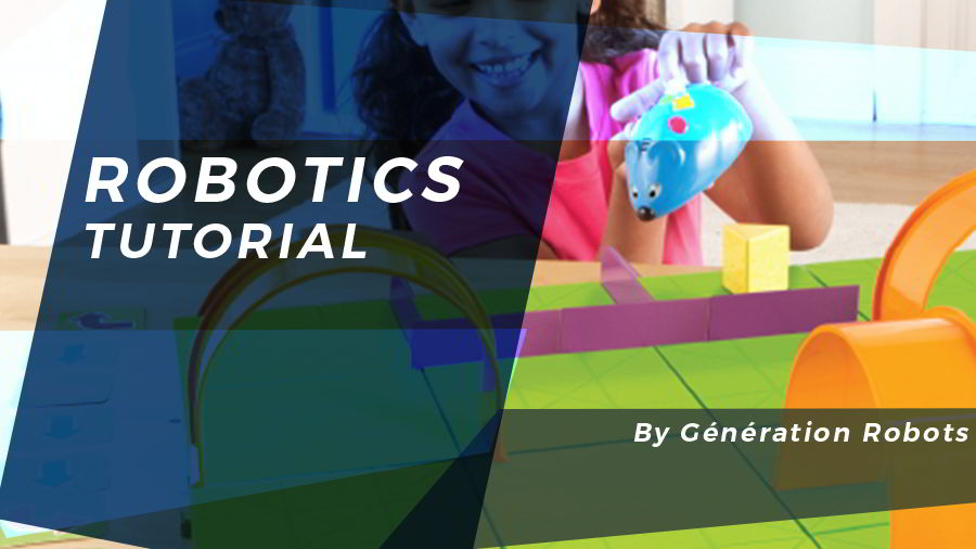 Tutorial robot mouse Colby (Code & Go) - Génération Robots