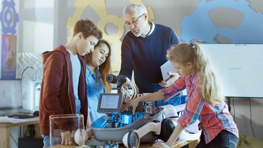 Grande étude sur la robotique à l'école