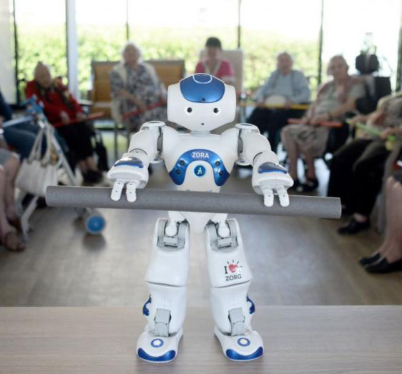 Le robot NAO dans les EHPAD
