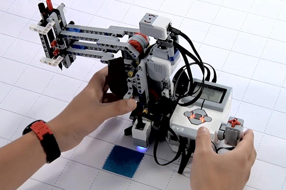 Programmer Lego Mindstorms EV3 avec Scratch 3