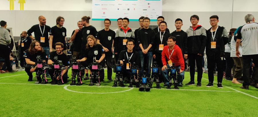 L'équipe Rhoban, championne du monde RoboCup pour la 4ème fois !
