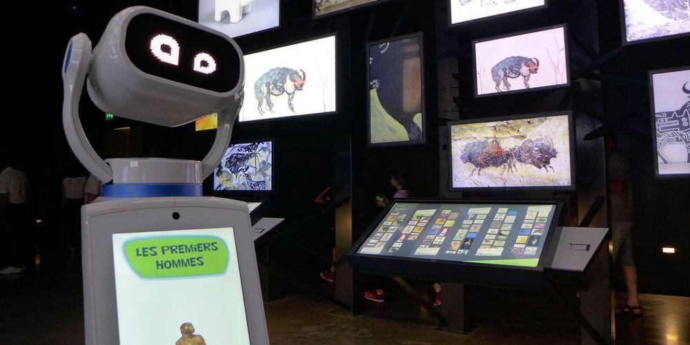 Un robot d'accueil à Lascaux