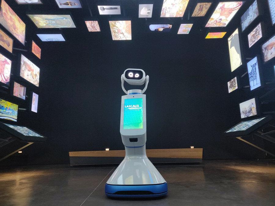 Le robot Heasy à Lascaux