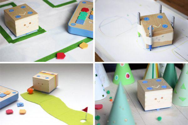 Personnalisez votre robot éducatif Cubetto