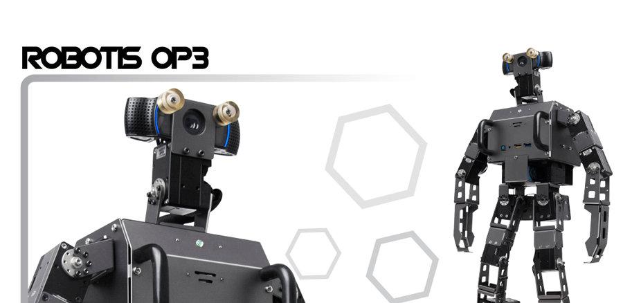 Robotis OP3 : un robot humanoïde de taille moyenne très polyvalent