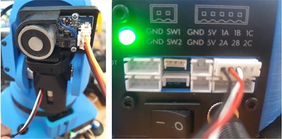 Niryo One outil électro-aimant