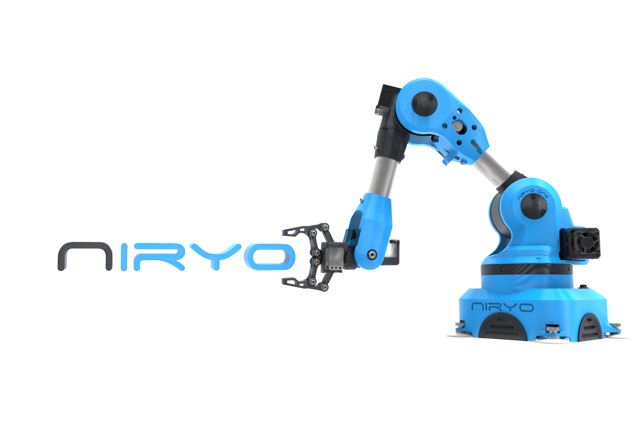 Guide pour bras robotique Niryo One : prise en main